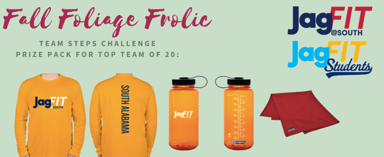 Prizes for Fall Foliage Frolic - Shirts and drink bottles