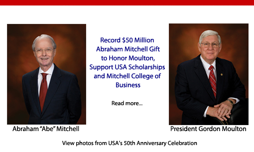 $50 Million Abraham Mitchell Gift to Honor Moulton - May 3, 2013