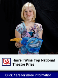 Theatre USA's Brittney Harrell Wins Top National Theatre Prize