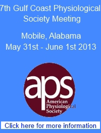 Gulf Coast Physiological Society Annual Meeting