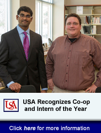 USA Recognizes CO-OP AND Intern Students Of The Year