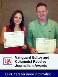 USA Vanguard Editor And Columnist Receive Journalism Awards