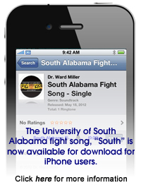 South Alabama Fight Song Available for iPhone
