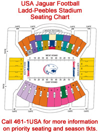 USA Athletics Unveils Ladd-Peebles Stadium Seating Chart