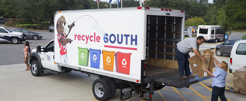 Recycle South truck