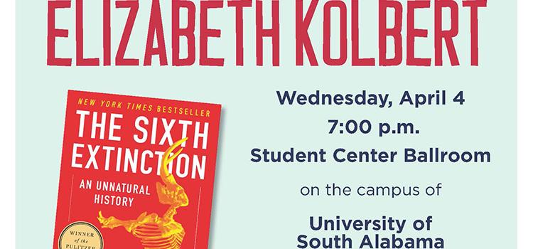Elizabeth Kolbert to Speak at Student Center Ballroom